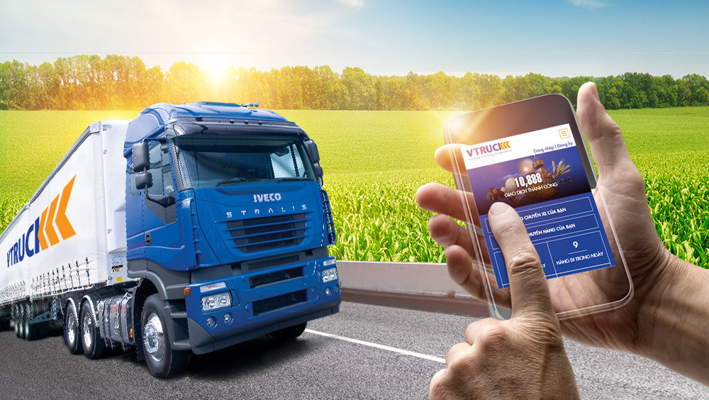"Vtruck ""Helping people get acquainted with the smart transport transaction method"""